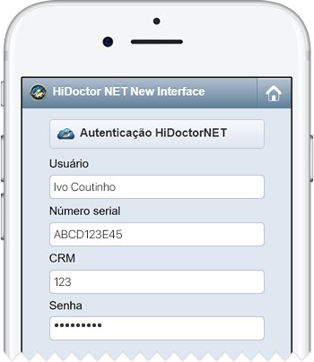 Login HiDoctor NET New Interface