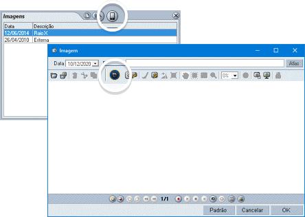 Ficha de imagens no HiDoctor