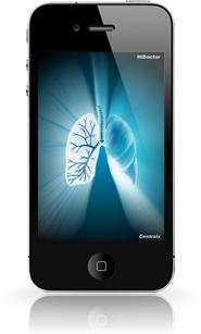 Wallpaper médico no iPhone