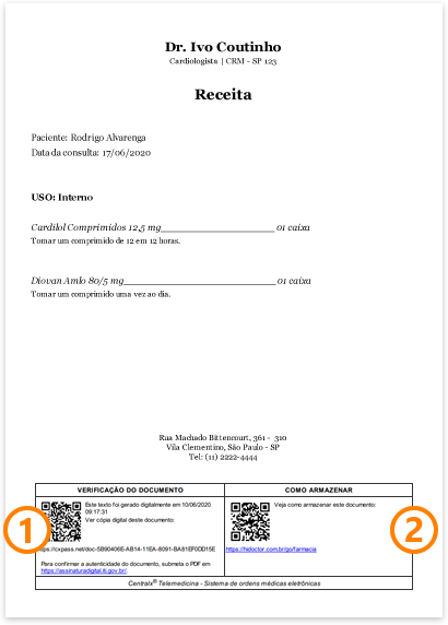 Documento compartilhado