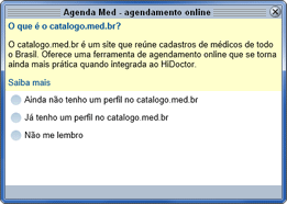 Login no catalogo.med.br