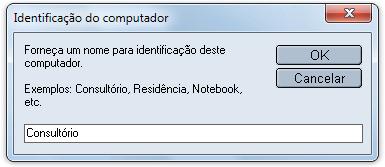 Identificação do computador